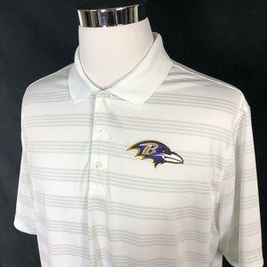 Nike Baltimore Ravens polo size XL